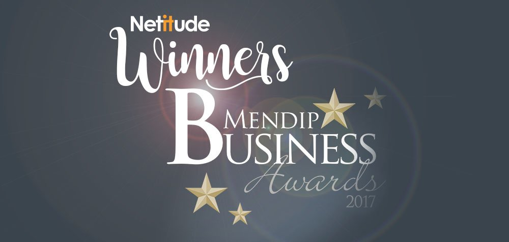 Netitude win customer service excellence award at the medip business awards 2017