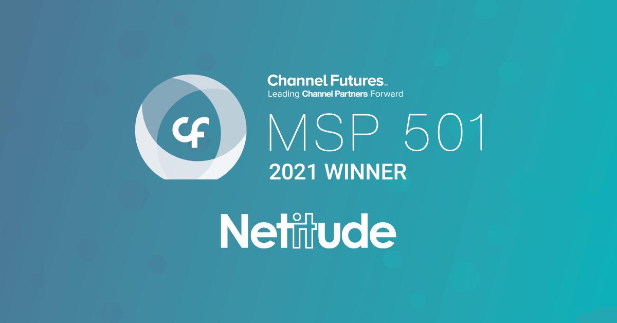 Netitude ranks in MSP 501 list